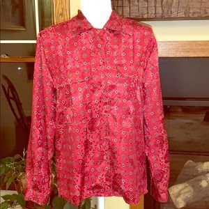 Justine Todd vintage button up blouse 10